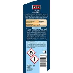 AREXONS POLISH RINNOVANTE 500 ml, Polish rimuovi graffi, opacità e righe della carrozzeria, azione detergente, elimina ossidazio